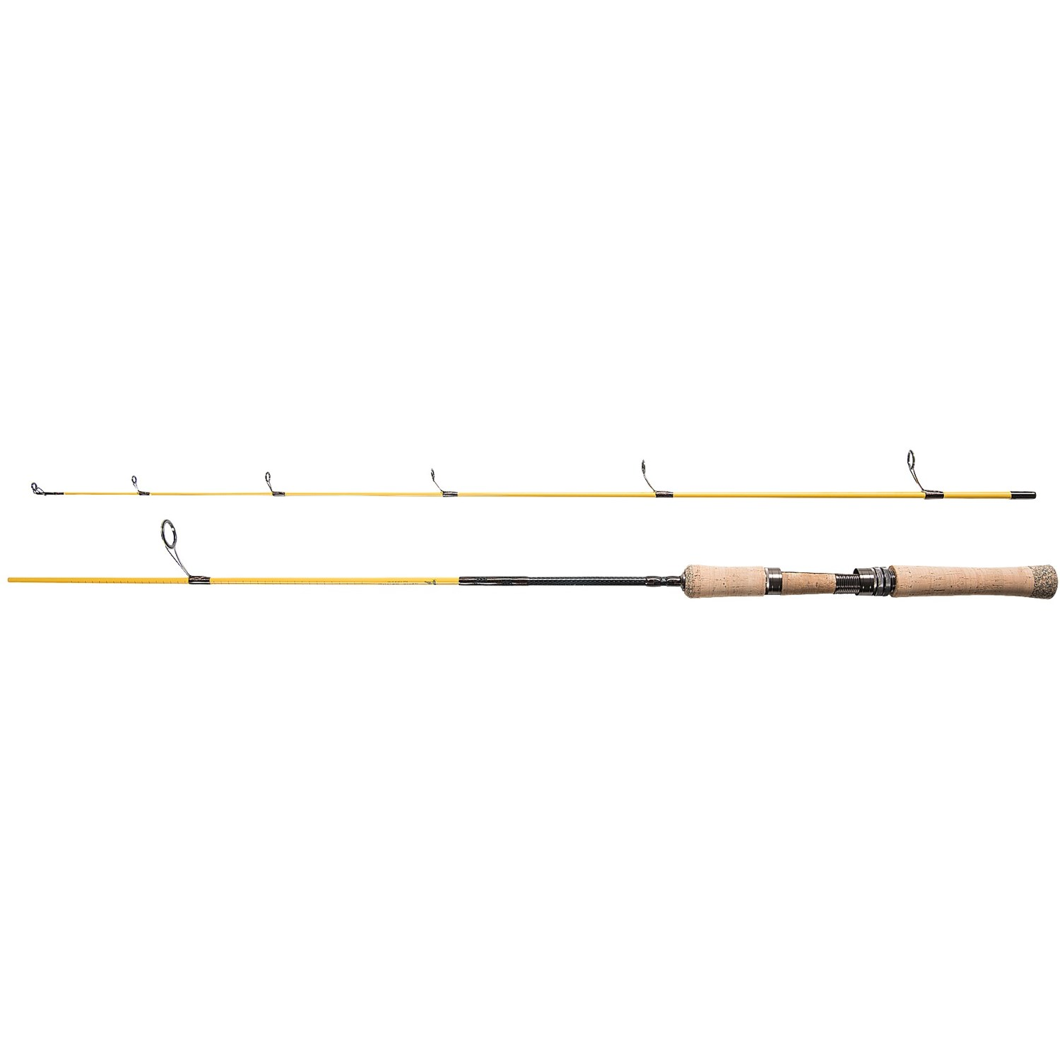 Eagle claw powerlight spinning rod 2 piece 5 6 4 10 for Light action fishing rod