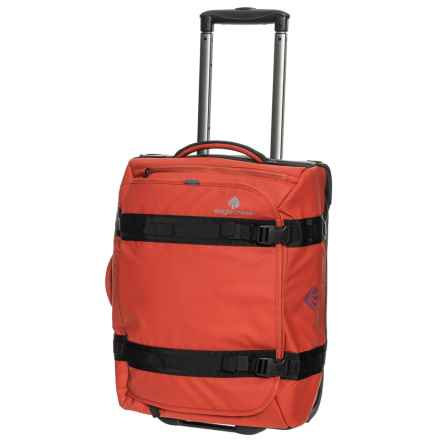 "e05a14dca2ba Eagle Creek 20"" No Matter What Flatbed Rolling Suitcase - Carry-On in Red"