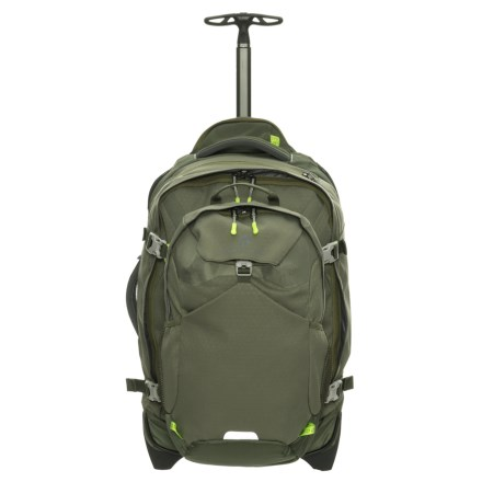 High Sierra A T Gear Ultimate Access Carry On Wheeled Backpack W Removable Day Pack