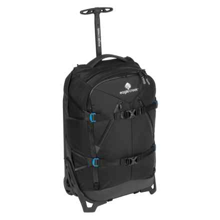 """Eagle Creek 22"""" Lync Carry-On Suitcase in Black - Closeouts"""