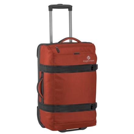 """Eagle Creek 22"""" No Matter What Flatbed Rolling Duffel Carry-On Suitcase in  Red 0a1e95b0bb"""