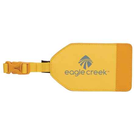 Eagle Creek Bi-Tech Luggage Tag in Canary - Closeouts