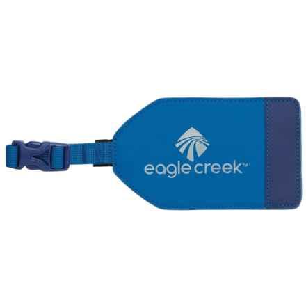 Eagle Creek Bi-Tech Luggage Tag in Cobalt - Overstock