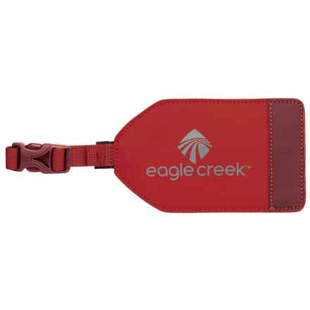 Eagle Creek Bi-Tech Luggage Tag in Firebrick - Overstock