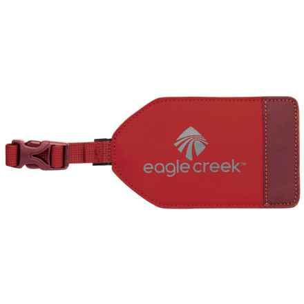 Eagle Creek Bi-Tech Luggage Tag in Firebrick - Overstock