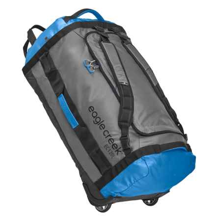Eagle Creek Cargo Hauler Rolling Duffel Bag - 120L in Blue/Grey - Closeouts