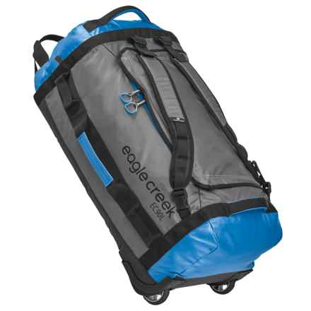 Eagle Creek Cargo Hauler Rolling Duffel Bag - 90L in Blue/Grey - Closeouts