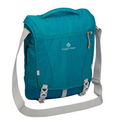 Eagle Creek Catch-All Courier RFID Backpack in Celestial Blue - Closeouts