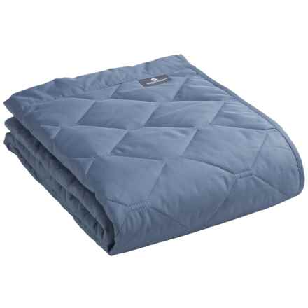"Eagle Creek Compact Travel Throw Blanket - 45x58"" in Blue Mist - Overstock"