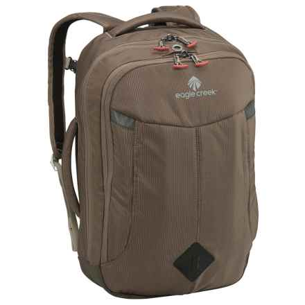 Eagle Creek Convertible Briefcase Backpack - RFID in Brown - Closeouts