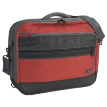 Eagle Creek Dane Laptop Briefcase in Red Clay/Grey - Closeouts