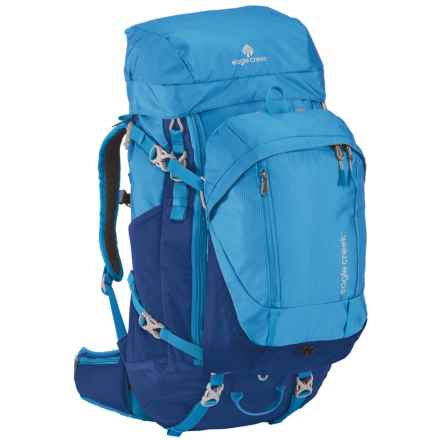 Eagle Creek Deviate Travel Backpack - 60L (For Women) in Brilliant Blue - Closeouts