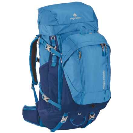 Eagle Creek Deviate Travel Backpack - 60L, Internal Frame in Brilliant Blue - Closeouts