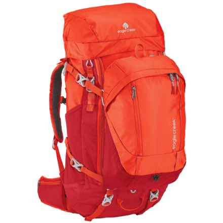 Eagle Creek Deviate Travel Backpack - 60L, Internal Frame in Flame Orange - Closeouts