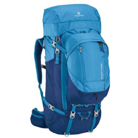 Eagle Creek Deviate Travel Backpack - 85L, Internal Frame in Brilliant Blue - Closeouts