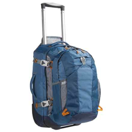 "Eagle Creek Doubleback Rolling Suitcase - 22"", Removable Daypack in Slate Blue - Closeouts"
