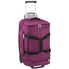 "Eagle Creek Ease Rolling Duffel Bag - 25"" in Berry - Closeouts"