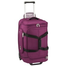 """Eagle Creek Ease Rolling Duffel Bag - 30"""" in Berry - Closeouts"""