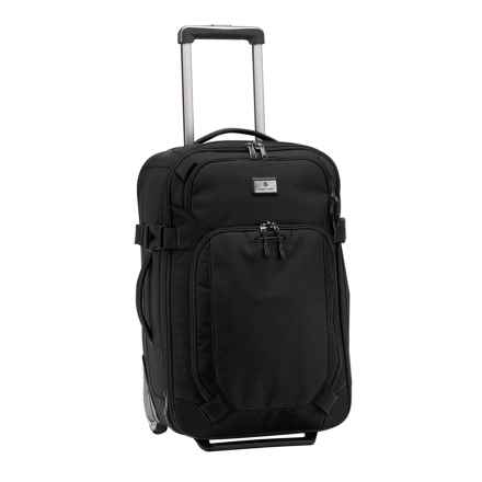 "Eagle Creek EC Adventure Rolling Carry-On Suitcase - 22"" in Black - Closeouts"