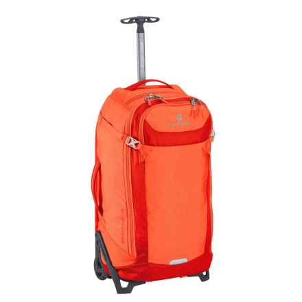 "Eagle Creek EC Lync System Rolling Suitcase - 26"", Collapsible in Flame Orange - Overstock"