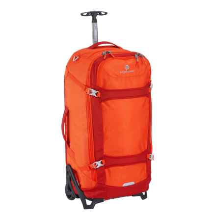 "Eagle Creek EC Lync System Rolling Suitcase - 29"", Collapsible in Flame Orange - Overstock"