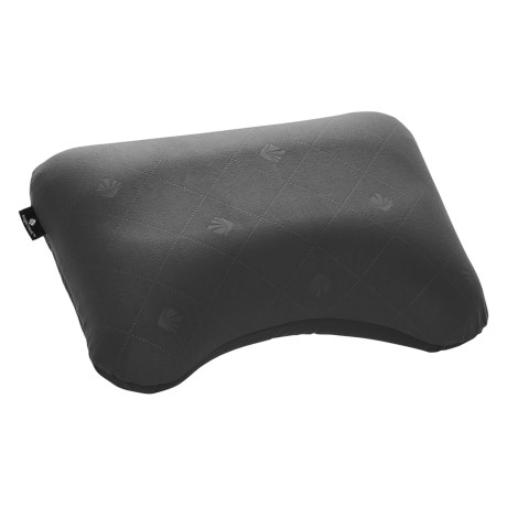 Eagle Creek Exhale Ergo Inflatable Travel Pillow in Ebony