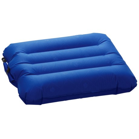 Eagle Creek Fast Inflate Pillow - Large in Blue Sea
