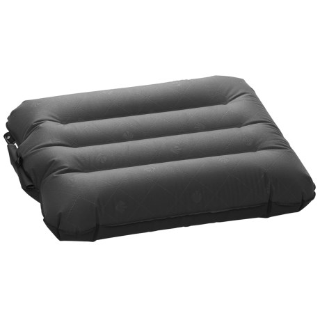 Eagle Creek Fast Inflate Pillow - Large in Ebony
