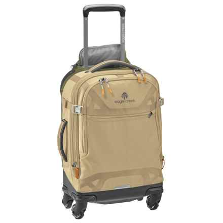 "Eagle Creek Gear Warrior AWD International Carry-On Spinner Suitcase - 21.5"" in Tan/Olive - Closeouts"