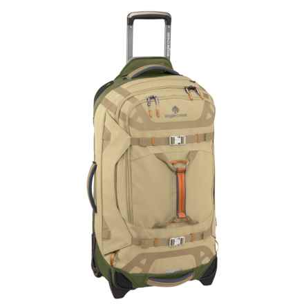 "Eagle Creek Gear Warrior Rolling Duffel Bag - 29"" in Tan/Olive - Closeouts"