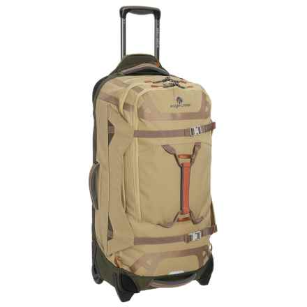 "Eagle Creek Gear Warrior Rolling Duffel Bag - 32"" in Tan/Olive - Closeouts"