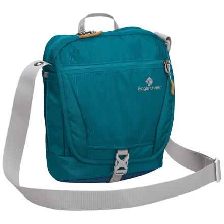 Eagle Creek Guide Pro Courier RFID Shoulder Bag in Celestial Blue - Closeouts