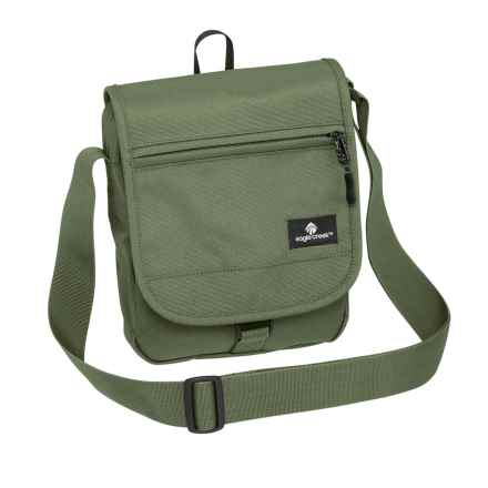 Eagle Creek Guide Trek Shoulder Bag in Olive - Closeouts