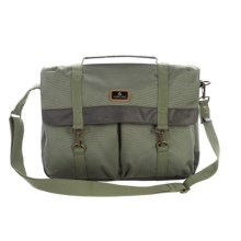 Eagle Creek Heritage Commuter Briefcase in Olive - Closeouts