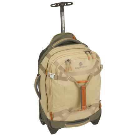 "Eagle Creek Load Warrior International Carry-On Rolling Duffel Bag - 20"" in Tan/Olive - Closeouts"