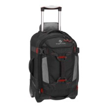 "Eagle Creek Load Warrior LT Upright Duffel Bag - 22"", Rolling in Black - Closeouts"