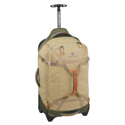 "Eagle Creek Load Warrior Rolling Duffel Bag - 26"" in Tan/Olive - Closeouts"