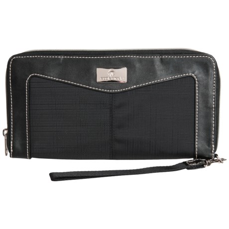 Eagle Creek Marian Zip-Around Travel Wallet (For Women) in Black