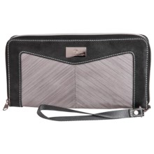 Eagle Creek Marian Zip-Around Travel Wallet (For Women) in Dove Stratus - Closeouts