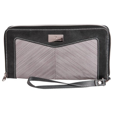 Eagle Creek Marian Zip-Around Travel Wallet (For Women) in Dove Stratus