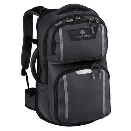 Eagle Creek Mission Control 38L Backpack in Asphalt Black - Closeouts
