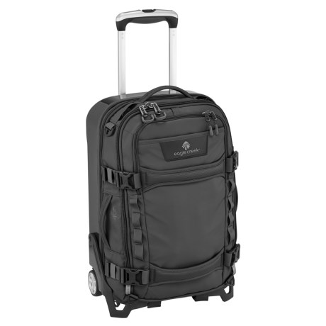 """Eagle Creek Morphus Rolling Carry-On Suitcase - 22"""" in Black"""