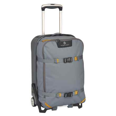 "Eagle Creek Morphus Rolling Carry-On Suitcase - 22"" in Stone Grey - Closeouts"