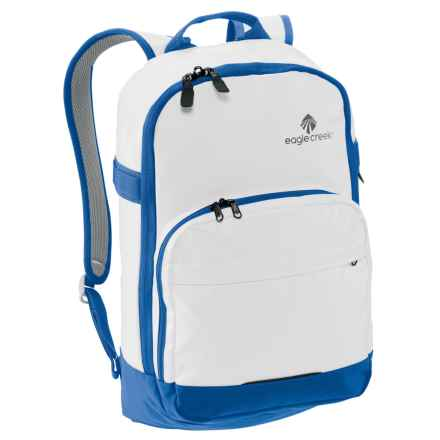 Eagle Creek No Matter What Classic Backpack in White/Cobalt - Closeouts