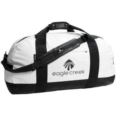 Eagle Creek No Matter What Duffel Bag - Large in White/Black - Closeouts