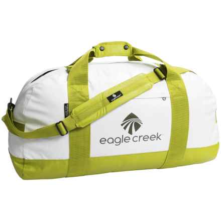 Eagle Creek No Matter What Duffel Bag - X-Large in White/Strobe Green - Closeouts