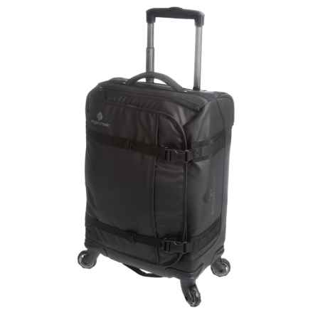 Eagle Creek No Matter What Flatbed AWD Carry-On Rolling Suitcase in Black - Closeouts