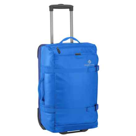 "Eagle Creek No Matter What Flatbed Rolling Duffel Bag - 20"" in Cobalt - Overstock"