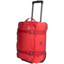 "Eagle Creek No Matter What Flatbed Rolling Duffel Bag - 20"" in Firebrick - 2nds"