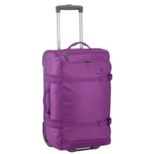 "Eagle Creek No Matter What Flatbed Rolling Duffel Bag - 20"" in Grape - 2nds"